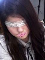 ロリぽちゃコロリン星19才Asusaちゃん続編は初の「レース目隠し」でイケナイ感MAX!道ですれ違った女の子を犯している様な「日常感」がある着衣SEXで種付けプレス!